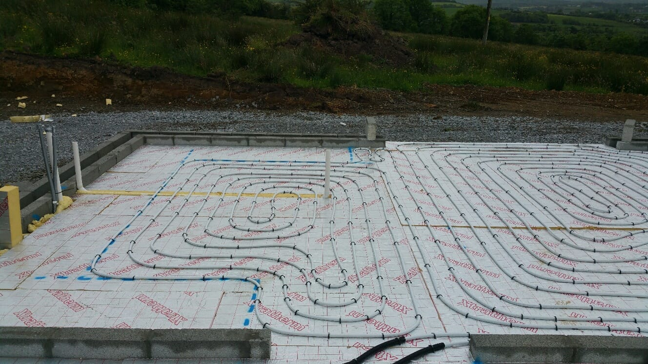 Renewable Designs Foundation Piping Underground Heating Cork | Kerry | Limerick